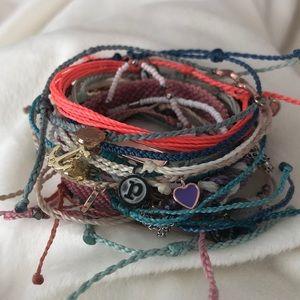 Pura Vida Bracelets, Lot of 16, most NWOT Summer
